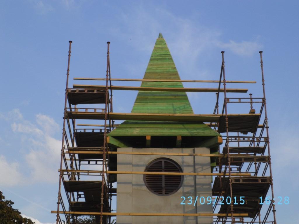 Nová strecha - drevené základy