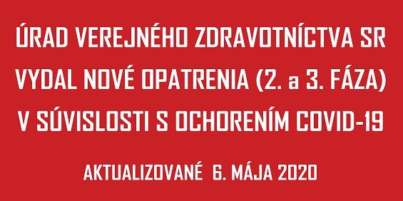 COVID-19 UVZSR nove opatrenia FAZA_2 - 05 Maj 2020_565px