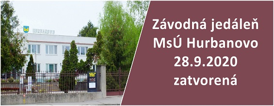 MsU Hurbanovo - zavodna jedalen 28.9.2020_565px