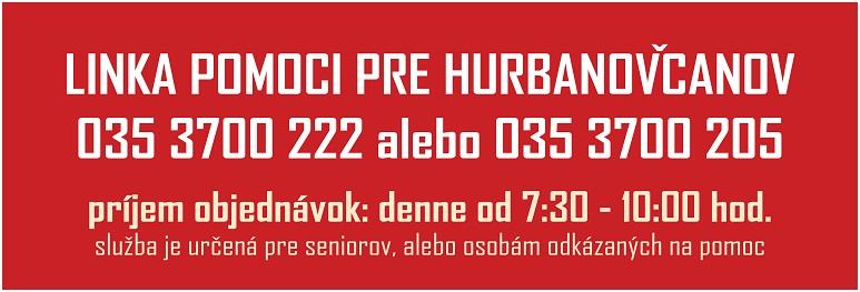 COVID-19 Linka Pomoci pre Hurbanovcanov_773pxx - 19 Oct 2020