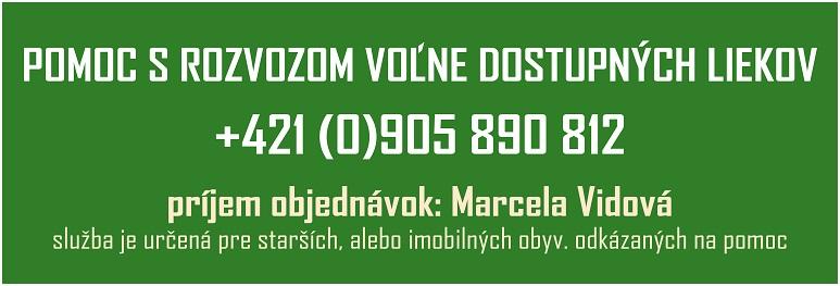 COVID-19 Pomoc s rozvozom liekov_773px - 19 Oct 2020
