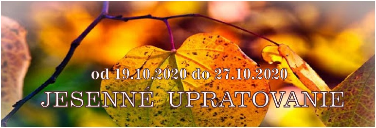 Slider 773 x 263 px - jesenne upratovanie - banner