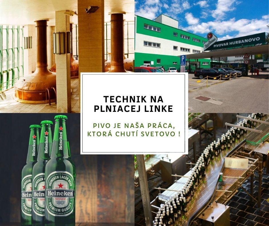 Heineken_inzercia Technik na plniacej linke