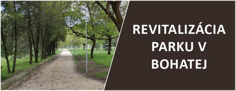 Revitalizacia parku v Bohatej 2021 - slider